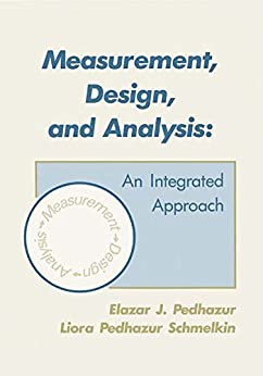 measurement design and analysis an integrated approach ebook