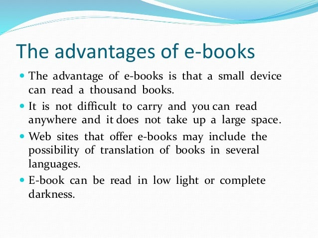 can an ebook be printed
