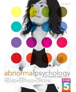 abnormal psychology comer 9th edition ebook