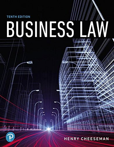 business and the law ebook