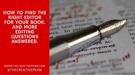 how to find an editor for ebook